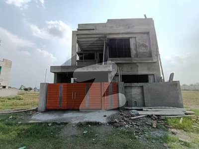 Solid 8 Marla Double Storey Grey Structure House For Sale In D Block In Bahira Orchard Lahore