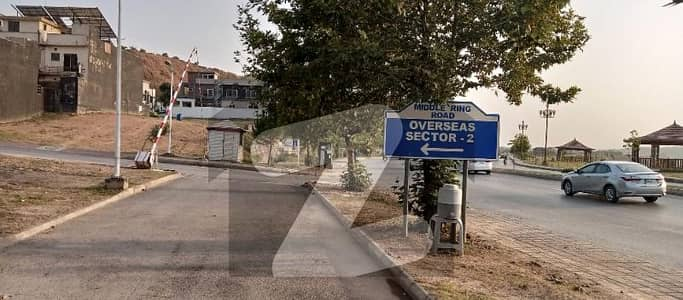10 Marla Residential Plot Is Available For Sale In Bahria Town Phase 8, OverSeas-2, Rawalpindi