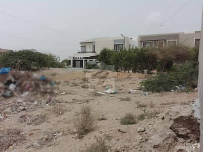 400 Square Yards Commercial Plot In Stunning DHA Defence Is Available For Sale