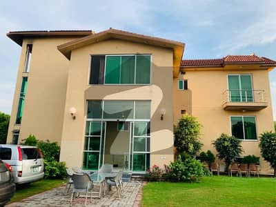 6 Bed Fully Furnished With Gym And Cinema 4 Kanal Farm House For Rent