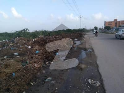 43 Acre Agricultural Land On Bhains Colony Road Karachi