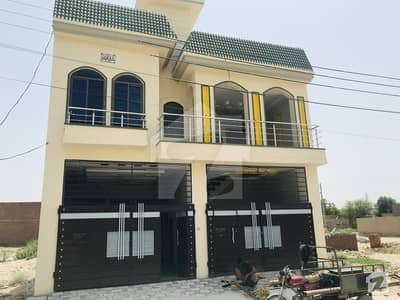 5.5 Marla Double Storey House With Double Garage