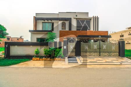 One Kanal House Of Banker Society Very Well Build With Straight Line Design Direct Approach From Ring Road