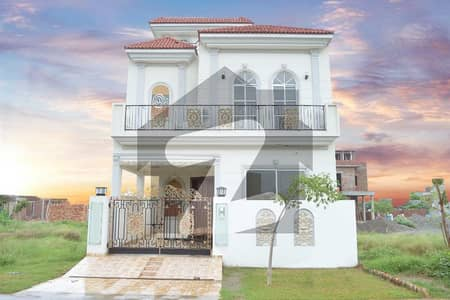 5 Marla New House Available For Sale At Dha 9 Town