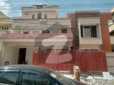 Brand New Double Storey House For Sale In Soan Garden Islamabad Size 50x90