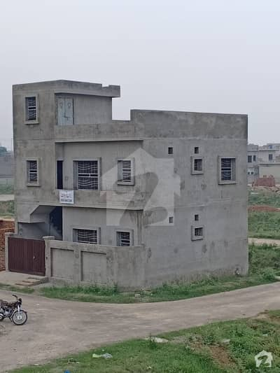 بسم اللہ ہاؤسنگ سکیم لاہور میں 4 کمروں کا 4 مرلہ مکان 60 لاکھ میں برائے فروخت۔