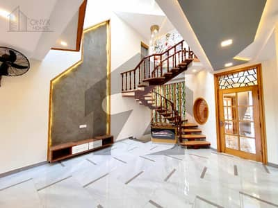 15 Marla Designer Triple Storey House With An Eye Catching Height View At Back