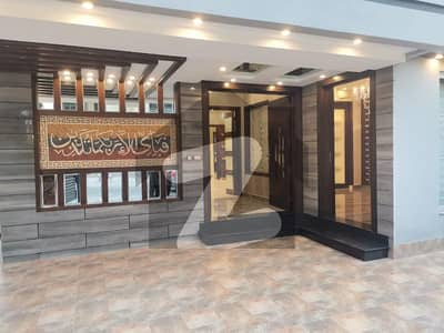 Corner 10 Marla Double Storey Brand New Designer House For Sale