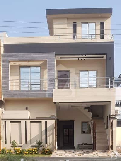5 Marla Brand House For Sale At Very Reasonable Price In M Block Al Rehman Garden Phase 2 Near Punjab College And Park At Footsteps.