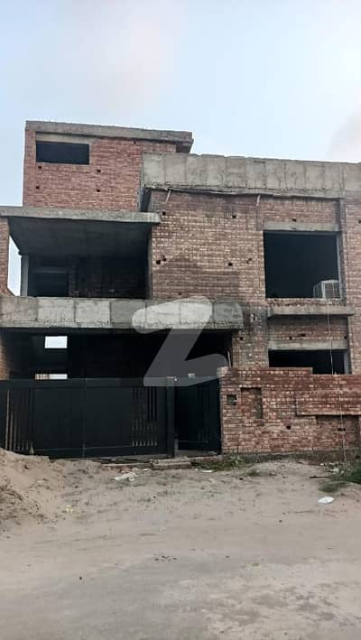 10 Marla Grey Structure House Available For Sale