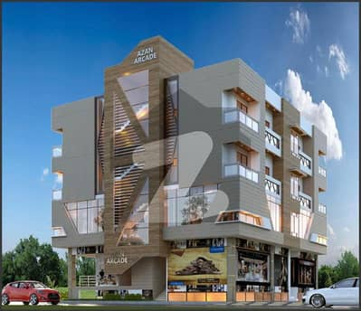 اسلام آباد ایکسپریس وے اسلام آباد میں 3 مرلہ فلیٹ 57.2 لاکھ میں برائے فروخت۔