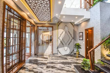 1 Kanal Facing Park With Basement Brand New Super Luxury House For Sale In DHA Phase 8