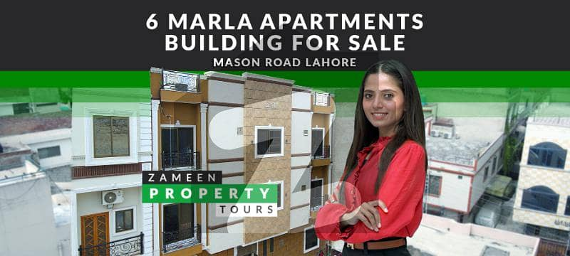6 Marla Apartments Building For Sale in Mason Road Lahore