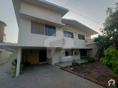 Chance Deal Plot Price 1000 Sq Yards Old Beautiful Bungalow  Khybana Tanzeem Street Dha Phase 5 Karachi