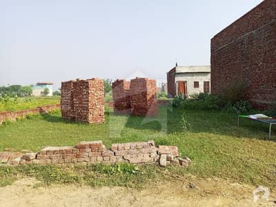رانا ٹاؤن لاہور میں 5 مرلہ رہائشی پلاٹ 8.5 لاکھ میں برائے فروخت۔