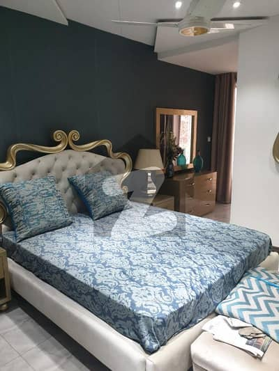 1 Bed Fully Luxury Furnished Apartment Available For Rent In Bahria Town Lahore