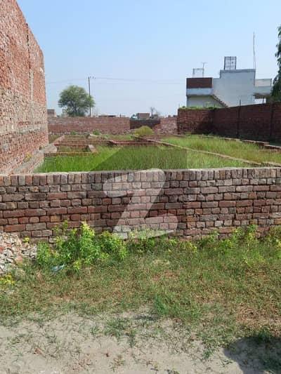 رانا ٹاؤن لاہور میں 5 مرلہ رہائشی پلاٹ 8.25 لاکھ میں برائے فروخت۔