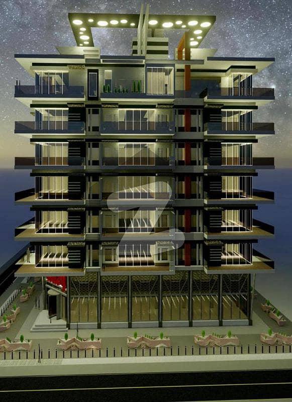 ڈی ایچ اے ڈیفینس فیز 5 ڈی ایچ اے ڈیفینس اسلام آباد میں 2 کمروں کا 6 مرلہ فلیٹ 1.77 کروڑ میں برائے فروخت۔