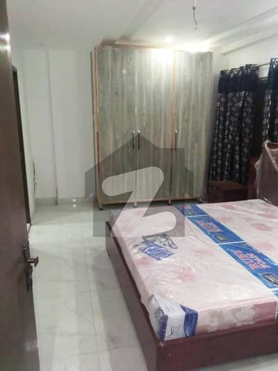 1 Bed Apartment Fully Furnished Ready to Possess Neat and Clean Building