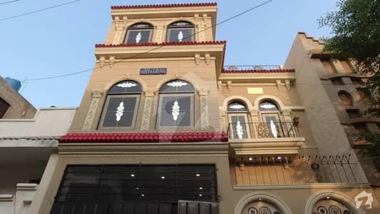 الاحمد گارڈن ہاوسنگ سکیم جی ٹی روڈ لاہور میں 4 کمروں کا 5 مرلہ مکان 1.25 کروڑ میں برائے فروخت۔