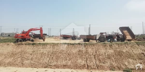 25x50 Residential Plot 3rd To Corner For Sale On Main Double Road I-15 3 Islamabad