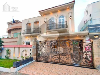 Greek Style Boulevard South Face Villa For Sale Near Malik Riaz Masjid Bahria Town Phase 8