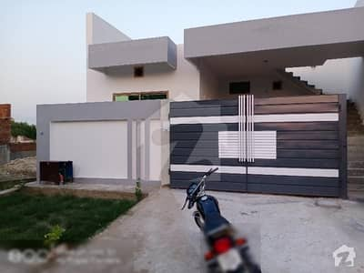 Aman Society Town 8 Marla Single Storey  Brand New House For Rent