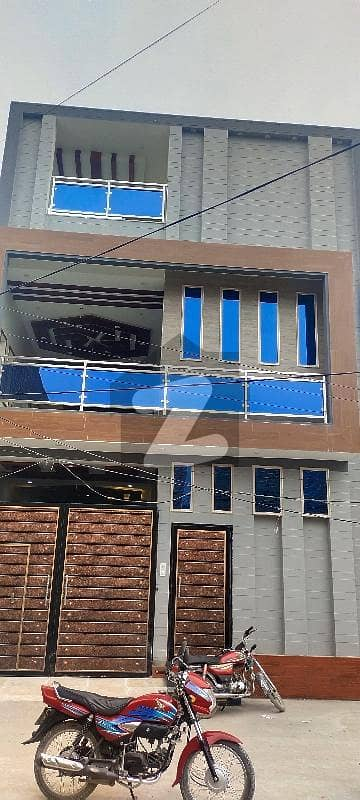 6 Marla Double Storey Fresh House For Sale