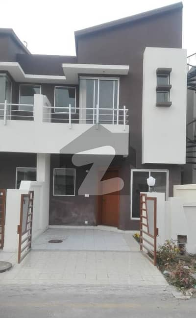 Facing Park 4 Marla Double Storey House For Sale In Eden Gardens Lahore
