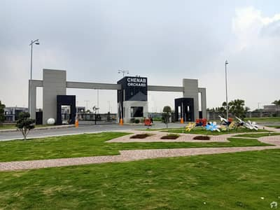 A Good Option For Sale Is The Residential Plot Available In Chenab Orchard In Chenab Orchard