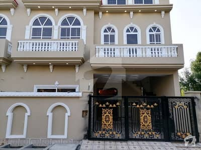 6.5 Marla Brand New House For Sale In Block D Canal Garden Lahore