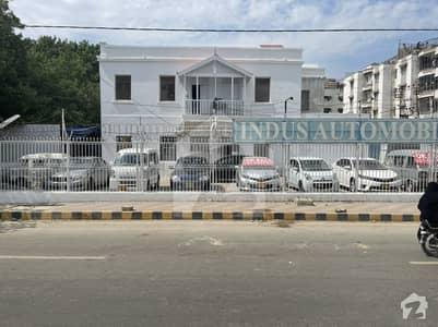 1200 Square Yards Corner Bungalow On Main M. a Jinnah Road