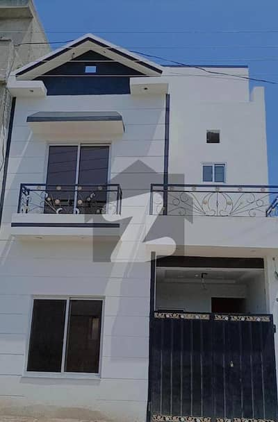 3 Marla Double Storey House Available For Booking Cash Or 1 Years Installment