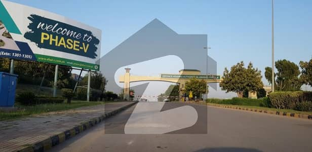 Ideally Location One Kanal Residential Plot In DHA Phase 5 - Sector B Islamabad