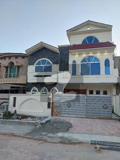 G-13 Islamabad Brand New 35x70 With Elegant Elevation V V I P Class Home  * House For Sale  beautiful Brand New Double Story Double Units House In Sec.                            g-13 Size 35x70 (10 Marlas) Ideal Location, A Scenic - View Of South F