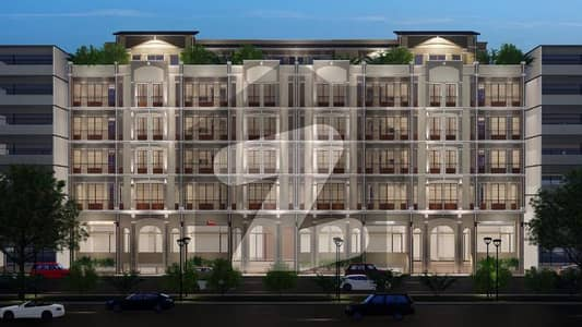 One Bed Appartment Is Available For Sale On Easy Installements In Royal Gate Enclave