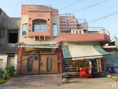10 Marla Corner Triple Storey House For Sale