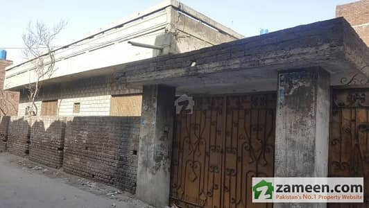 Main Gt Road Near Zinco Cinema 14 Marla Old Construction Single Storey Home For Sale