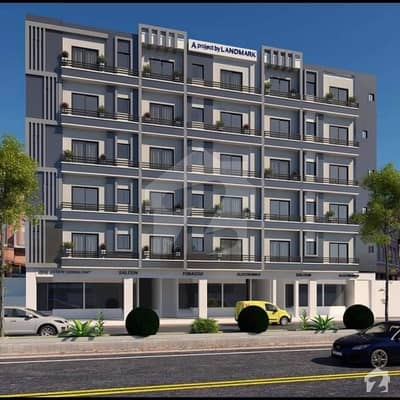 Flat Of 525 Square Feet For Sale In Bahria Town - Iqbal Block