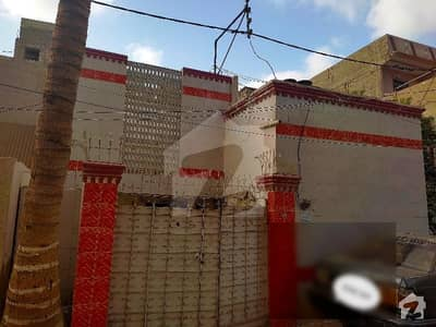 House Single Old Construction Next To Main Road First Street North Karachi Sector 8