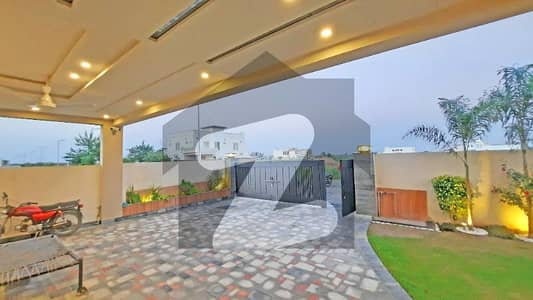 Ultra Modern One Kanal Brand New Designer Bungalow Situated At Most Prime Location