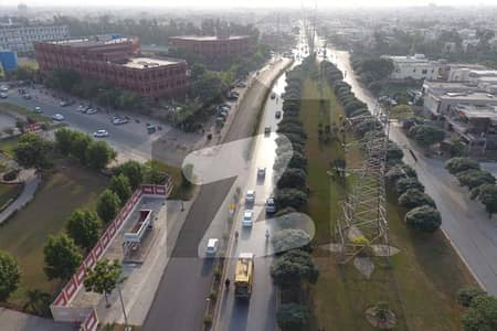 Corner 5 Marla Residential Plot Near To Ring Road Is Available For Sale In Dha Phase 9 Prism Block J Lahore Best Investment