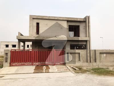 18 Marla Facing Park Grey Structure House For Sale In A Block Bankers Avenue