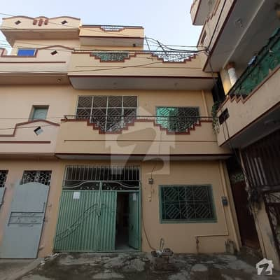 3 Marla Double Portion House For Sale In Very Good Condition