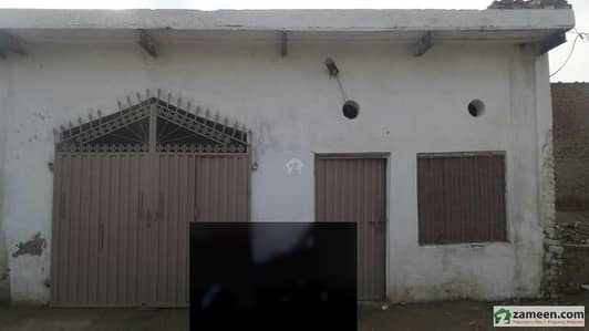 Single Storey House For Sale At Sabza Zaar Colony Okara