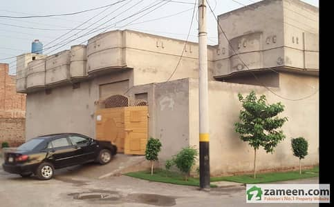 Corner House Is Available For Sale In Khawaja Garden Khuriawala