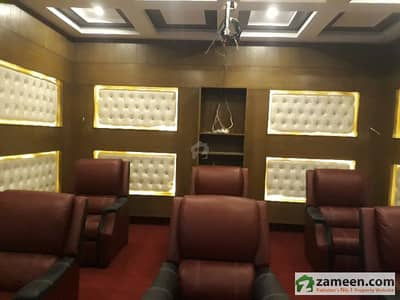 1 Kanal Brand New Designer House With Cinema Near Park Mosque Main Road
