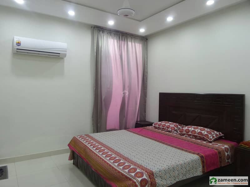 Furnished Flat Is Available For Rent In Bahria Town Sector C