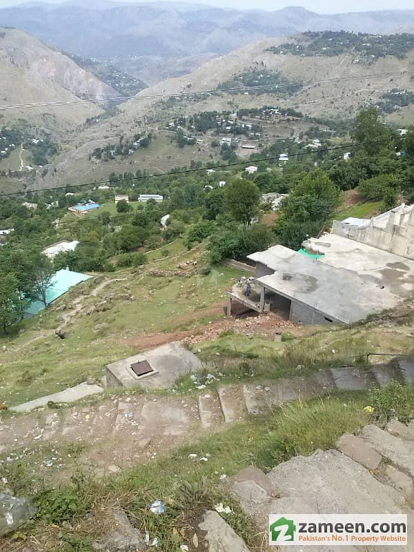 Murree Plot 5 Marla In Ghora Gali At Braori Stop Near Cadets Camps Murree For Sale
