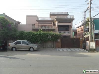 Double Storey Beautiful Corner Bungalow For Sale At Nawab Colony Okara